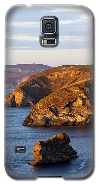 Portreath North Cliffs Galaxy S5 Case by Ken Brannen