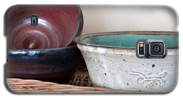 Pottery In A Basket Galaxy S5 Case by Kathy Sheeran