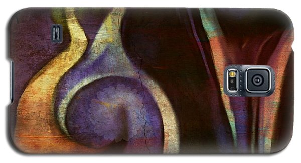 Galaxy S5 Case featuring the digital art Pottery Of Time by Sherri  Of Palm Springs