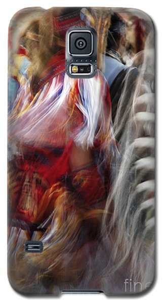 Galaxy S5 Case featuring the photograph Pow Wow Dancer by Vivian Christopher