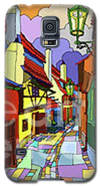 Prague Golden Line Galaxy S5 Case