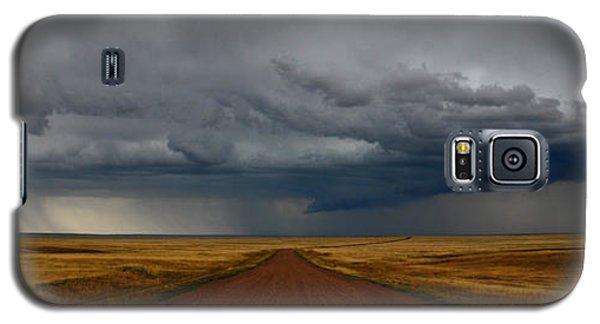 Prairie Storm In Canada Galaxy S5 Case
