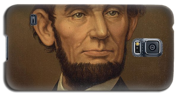 Galaxy S5 Case featuring the photograph President Of The United States Of America - Abraham Lincoln  by International  Images