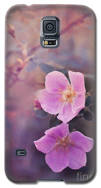Prickly Rose Galaxy S5 Case by Priska Wettstein