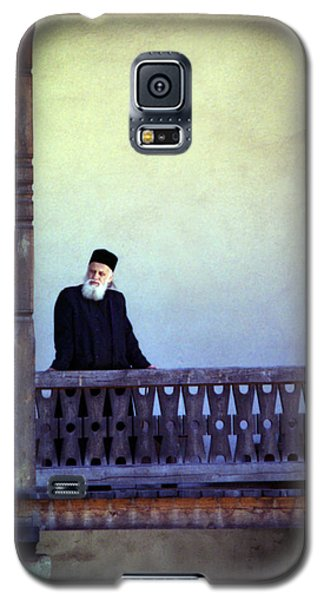 Priest At Bistrita Monastery Galaxy S5 Case