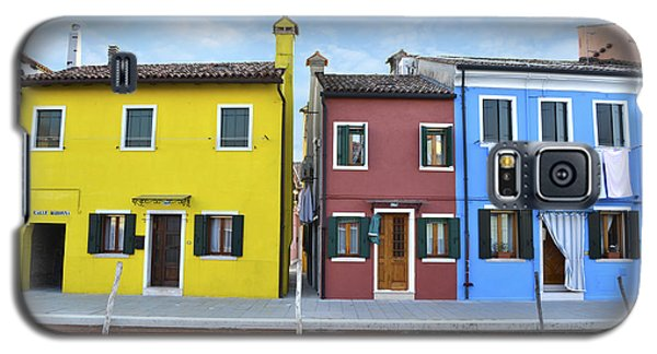 Galaxy S5 Case featuring the photograph Primary Colors In Burano Italy by Rebecca Margraf