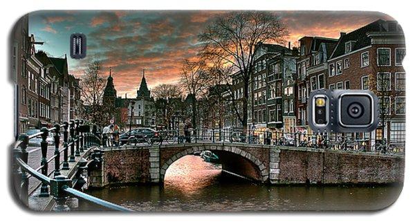 Prinsengracht And Reguliersgracht. Amsterdam Galaxy S5 Case by Juan Carlos Ferro Duque