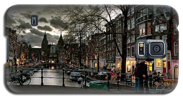 Prinsengracht And Spiegelgracht. Amsterdam Galaxy S5 Case by Juan Carlos Ferro Duque