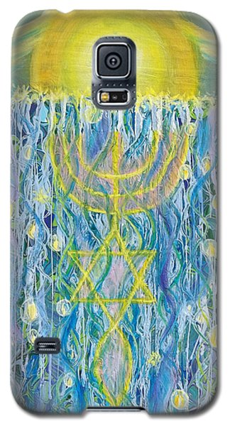 Prophetic Message Sketch Painting 26 Elohim Elohim Latter Rain Galaxy S5 Case