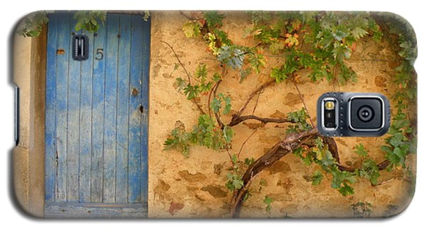 Galaxy S5 Case featuring the photograph Provence Door 5 by Lainie Wrightson