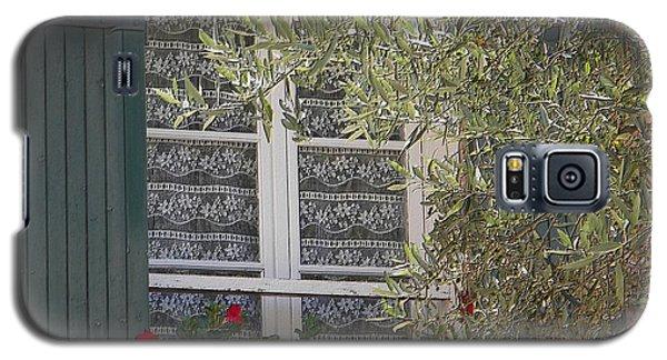 Provensale Window Galaxy S5 Case by Manuela Constantin