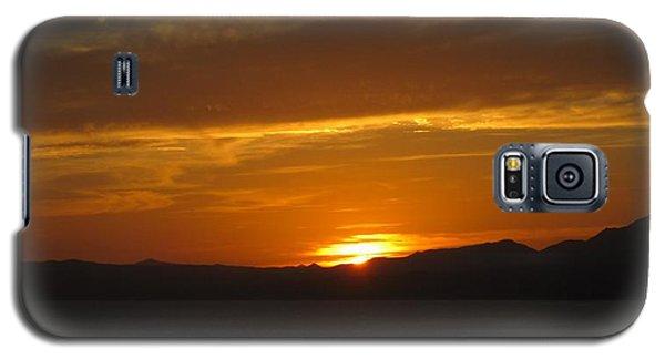 Galaxy S5 Case featuring the photograph Puerto Vallarta Sunset by Marilyn Wilson