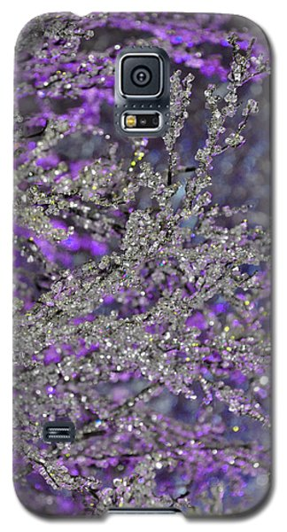Purple Crystal Galaxy S5 Case
