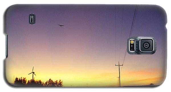 Purple Evening On The Island Galaxy S5 Case
