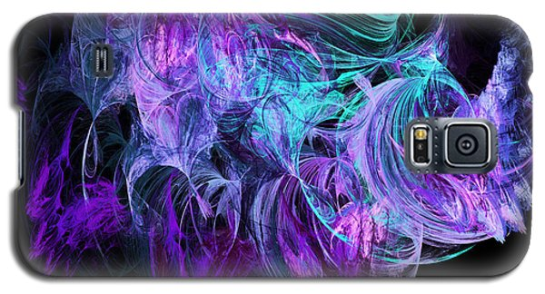 Purple Fusion Galaxy S5 Case