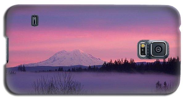 Purple Mountain Majesty Galaxy S5 Case