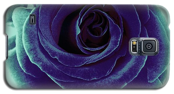 Galaxy S5 Case featuring the photograph Purple Rose by Jasna Gopic