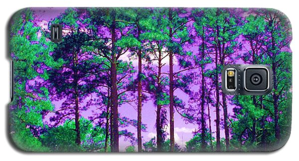 Galaxy S5 Case featuring the photograph Purple Sky by George Pedro