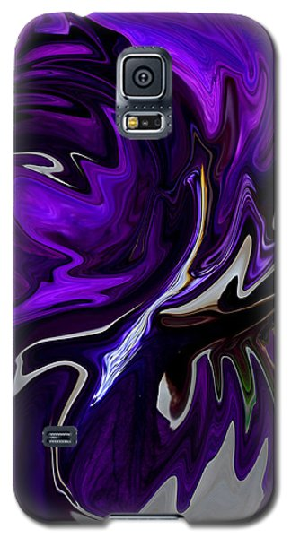 Purple Swirl Galaxy S5 Case