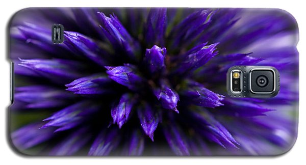 Purple Zoom Galaxy S5 Case by Trevor Chriss