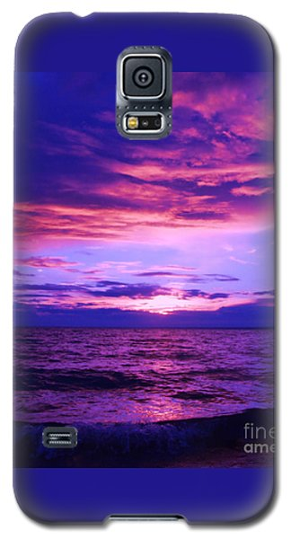Galaxy S5 Case featuring the photograph Purplosion by Marianne NANA Betts