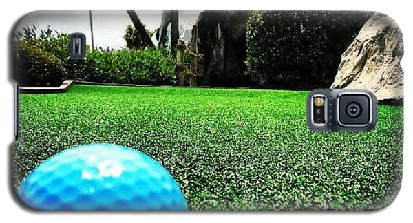 Sport Galaxy S5 Case - Putt Putt  by Lea Ward