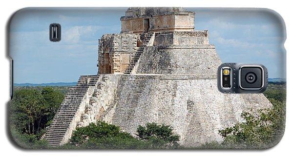 Pyramid Of The Magician At Uxmal Mexico Galaxy S5 Case by Shawn O'Brien