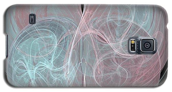 Galaxy S5 Case featuring the digital art Quadrant by Kim Sy Ok
