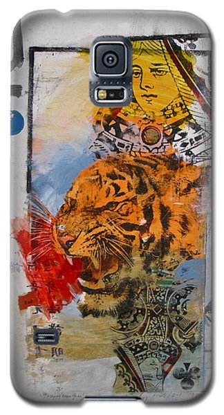 Queen Of Clubs 4-52  2nd Series  Galaxy S5 Case