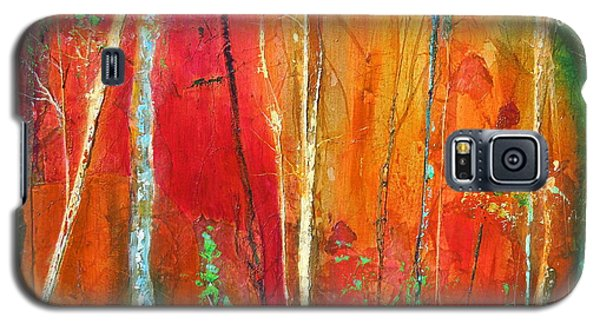 Galaxy S5 Case featuring the painting Quinacridone Hollow  by Dan Whittemore