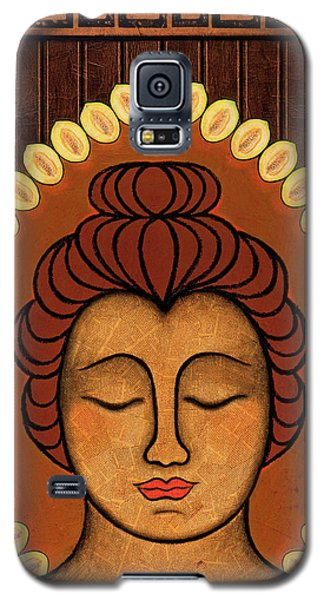 Galaxy S5 Case featuring the painting Radiant Peace by Gloria Rothrock
