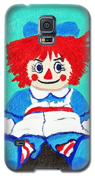 Raggedy Ann With An Attitude Galaxy S5 Case