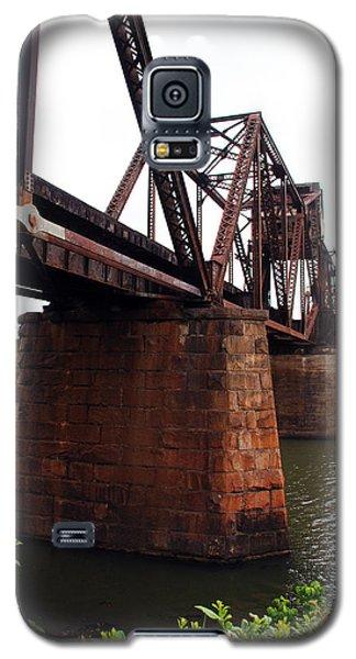 Galaxy S5 Case featuring the photograph Railroad Bridge 1 by Kay Lovingood
