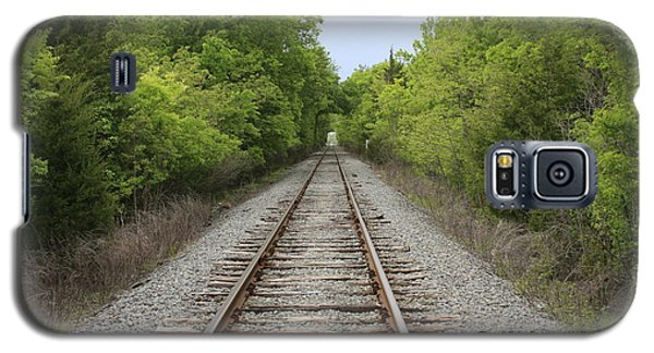 Railroad Tracks Galaxy S5 Case