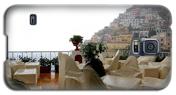 Galaxy S5 Case featuring the photograph Rain In Positano  2 by Tanya  Searcy