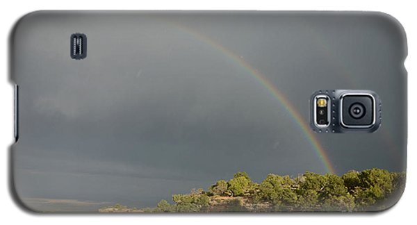 Rainbow At Grand Canyon Galaxy S5 Case