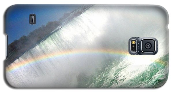 Galaxy S5 Case featuring the photograph Rainbow For The Maid Of The Mist by Danielle  Parent
