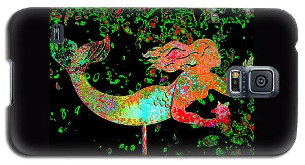 Rainbow Mermaid Galaxy S5 Case