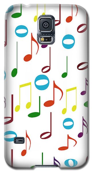 Rainbow Notes Galaxy S5 Case