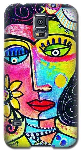 Rainbow Sunshine Frida Galaxy S5 Case