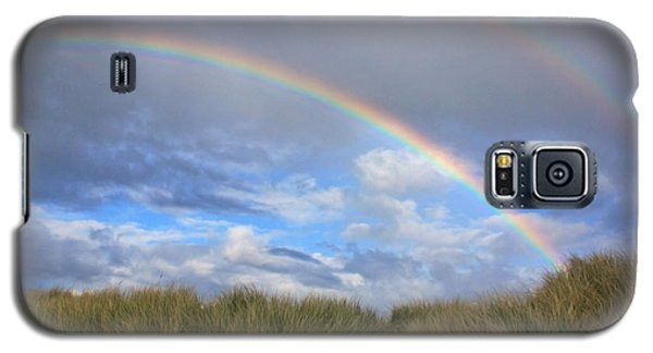 Galaxy S5 Case featuring the photograph Rainbows Over The Sand by Tyra  OBryant