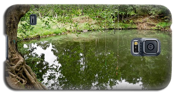 Rainforest Lake In New Zealand Galaxy S5 Case