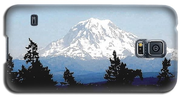 Galaxy S5 Case featuring the photograph Rainier Reign by Sadie Reneau