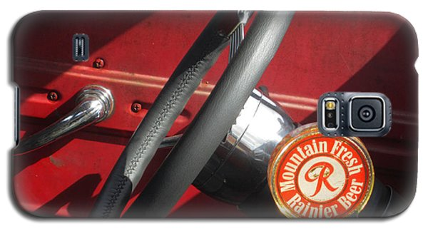Galaxy S5 Case featuring the photograph Rainier Stick Shift  by Kym Backland