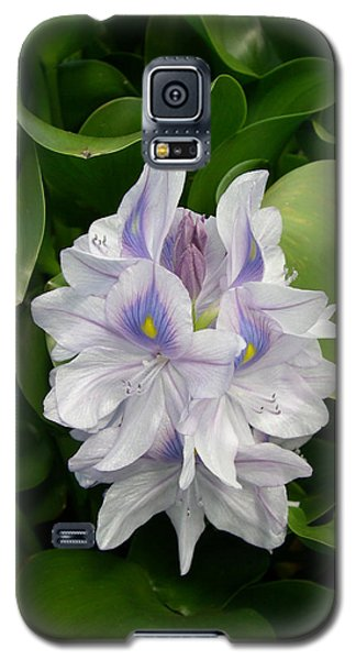 Galaxy S5 Case featuring the digital art Rare Hawain Water Lilly by Claude McCoy