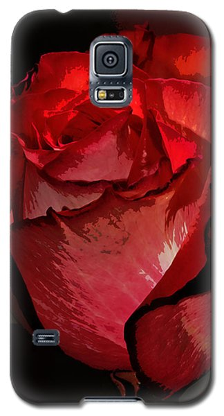 Rare Red Rose Galaxy S5 Case by Phyllis Denton