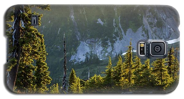 Galaxy S5 Case featuring the photograph Rare Sunset by Albert Seger