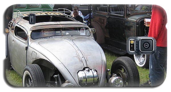 Galaxy S5 Case featuring the photograph Rat Rod Many Parts by Kym Backland