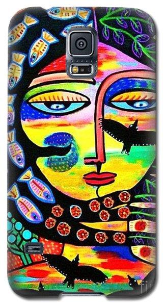 Raven Goddess Galaxy S5 Case