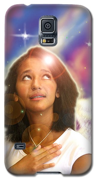Ravert. Angelic Galaxy S5 Case by Nada Meeks